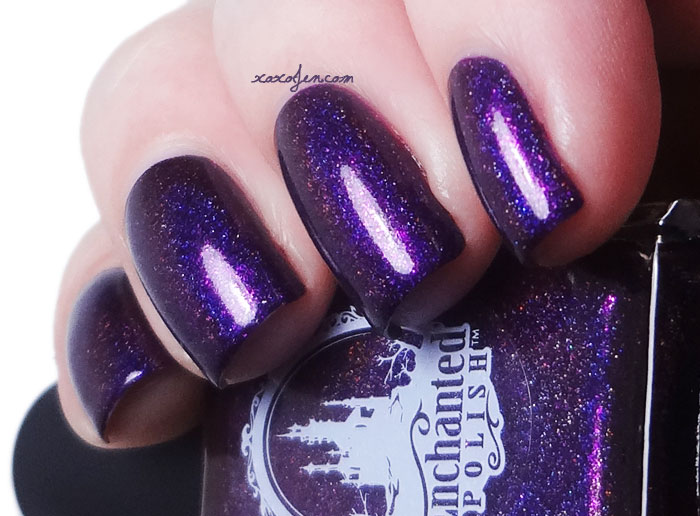 xoxoJen's swatch of Enchanted Polish: January 2015