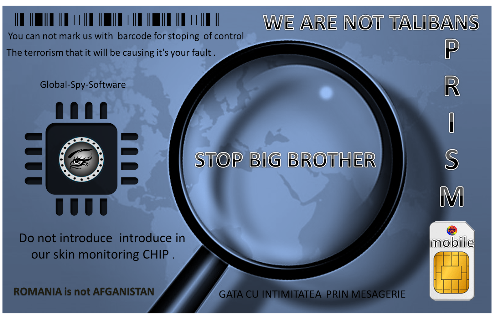 CAMPANIA ANTI SPIONAJ CIVIL BIG BROTHER