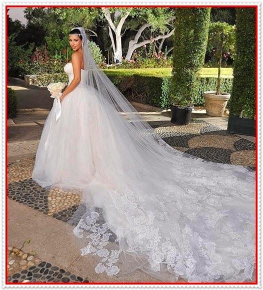 Auffällige Brautkleider 2014