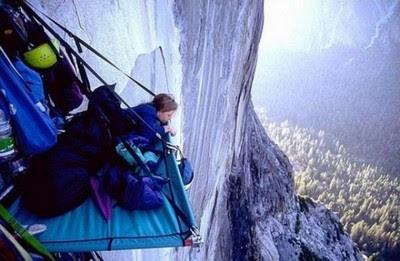 cara makan para pemanjat tebing
