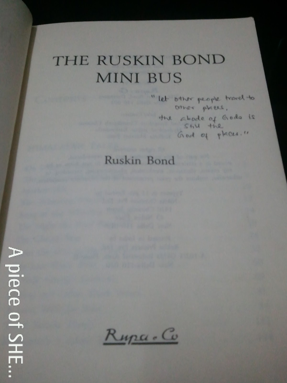 essay on ruskin bond Free essay: life and career ruskin bond was born in a military hospital in [kasauli] to edith clerke and aubrey bond his siblings were ellen and william.