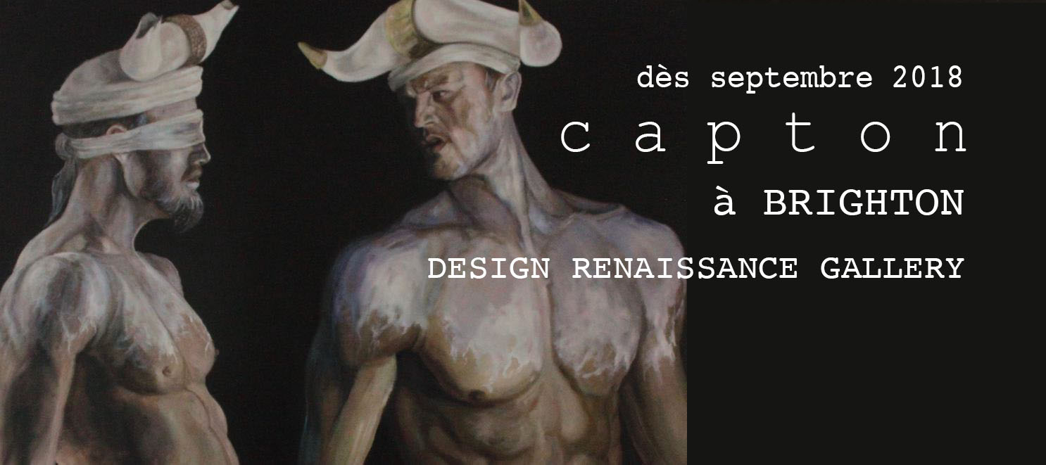 NOUVEAU À BRIGHTON (GB) : LA DESIGN RENAISSANCE GALLERY EXPOSE CAPTON