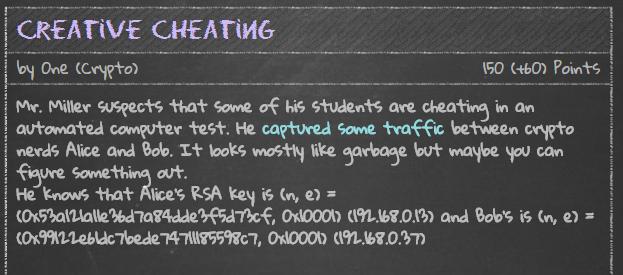 creative cheating