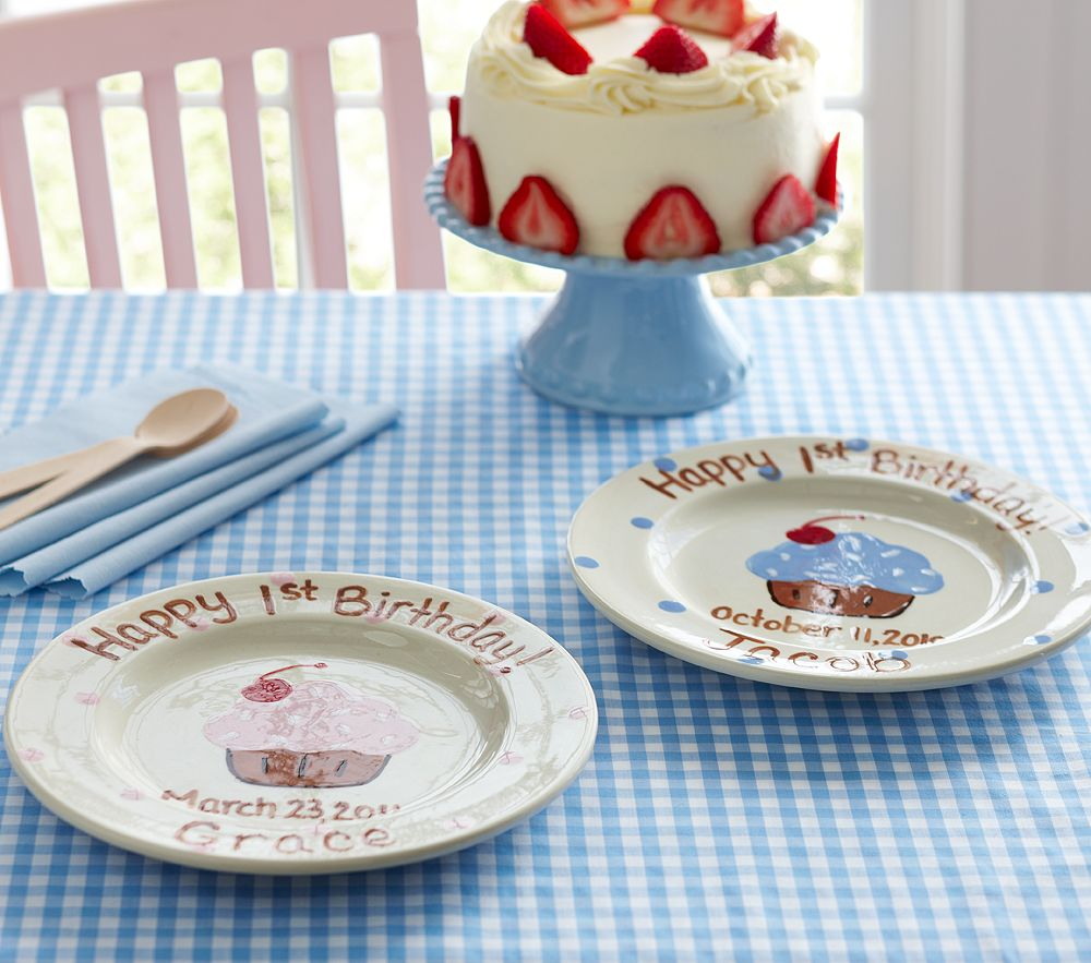 Farmhouse Country Style Blogoversary And Birthday Wishes & Cool Happy Birthday Plate Ceramic Photos - Best Image Engine ...