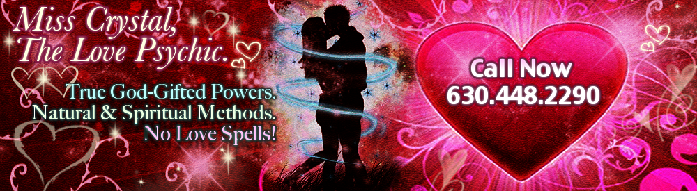 Crystal Love Psychic Healer & Spiritual Worker, Reunites Lovers & Stops Divorce