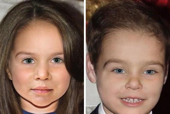 شكل طفل الامير ويليام وكيت ميدلتون