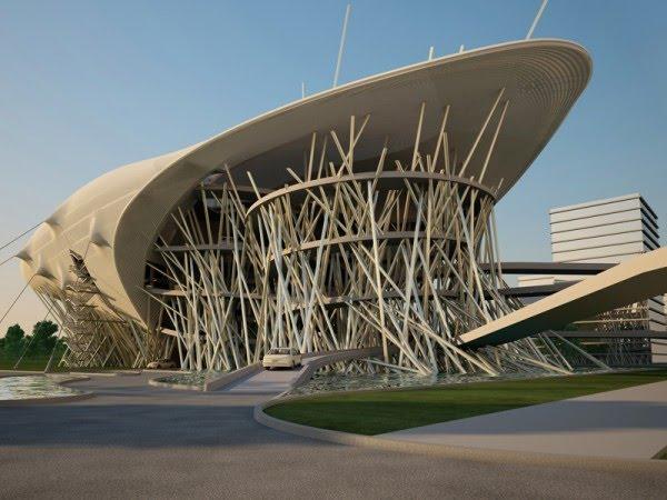 Architecture Surréaliste ville hybride©: emmener l'architecture sur les rives du surréalisme