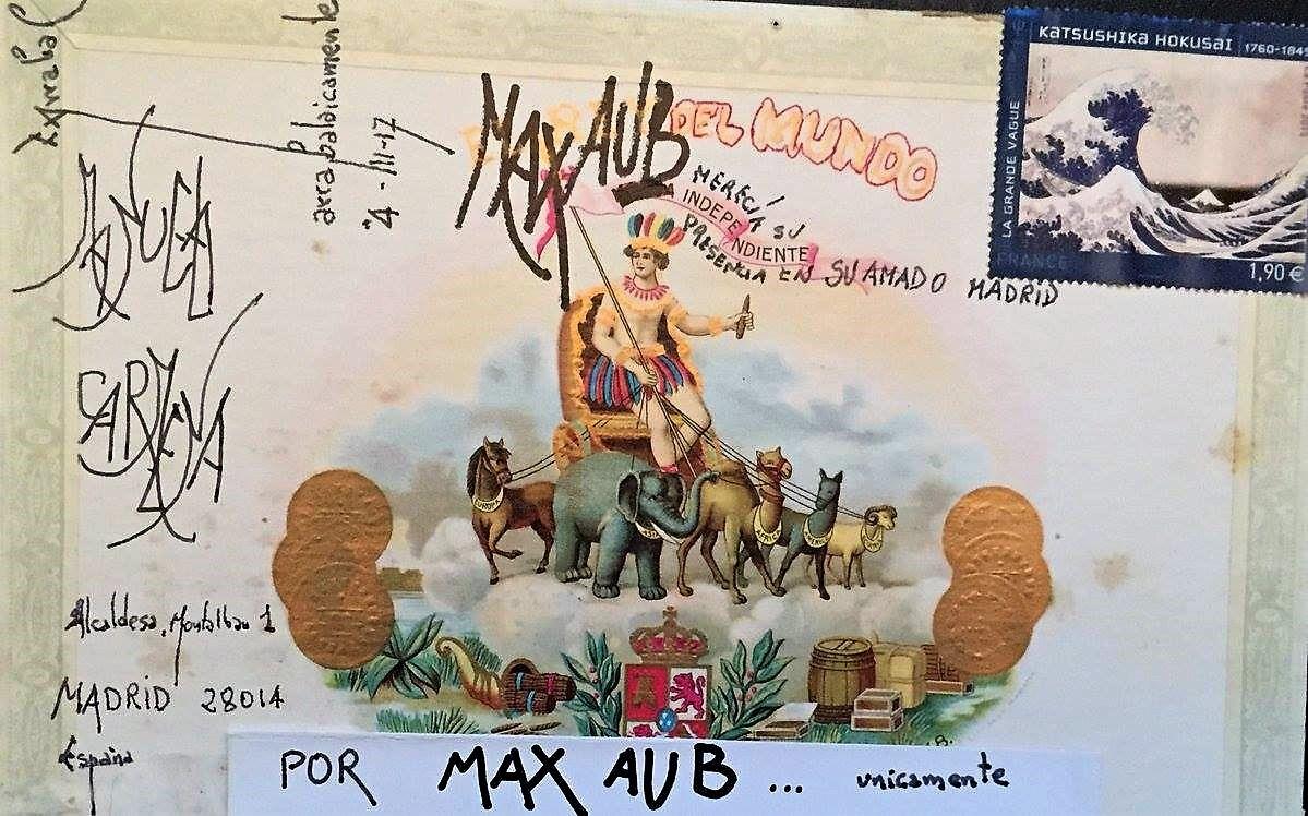 NO A LA RETIRADA DE LOS NOMBRES MAX AUB Y FERNANDO ARRABAL DE LAS SALAS DEL MATADERO EN MADRID