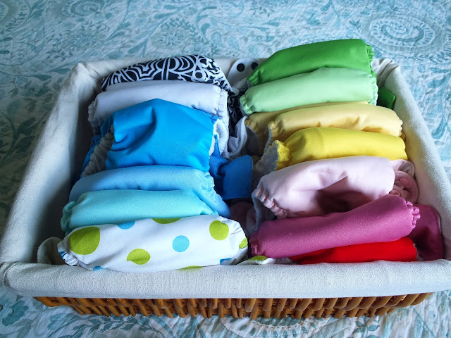 cloth diapering a toddler