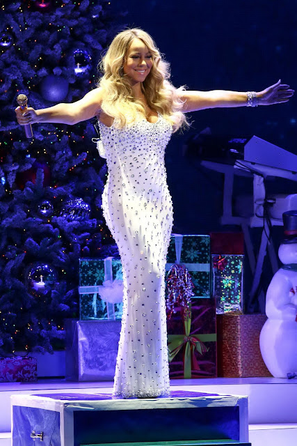 Actress, Singer, @ Mariah Carey - 'All I Want For Christmas Is You' concert at Beacon Theatre in NYC