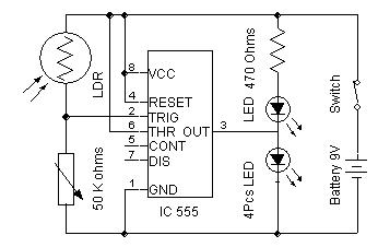 Automatic Street Light | Electronics
