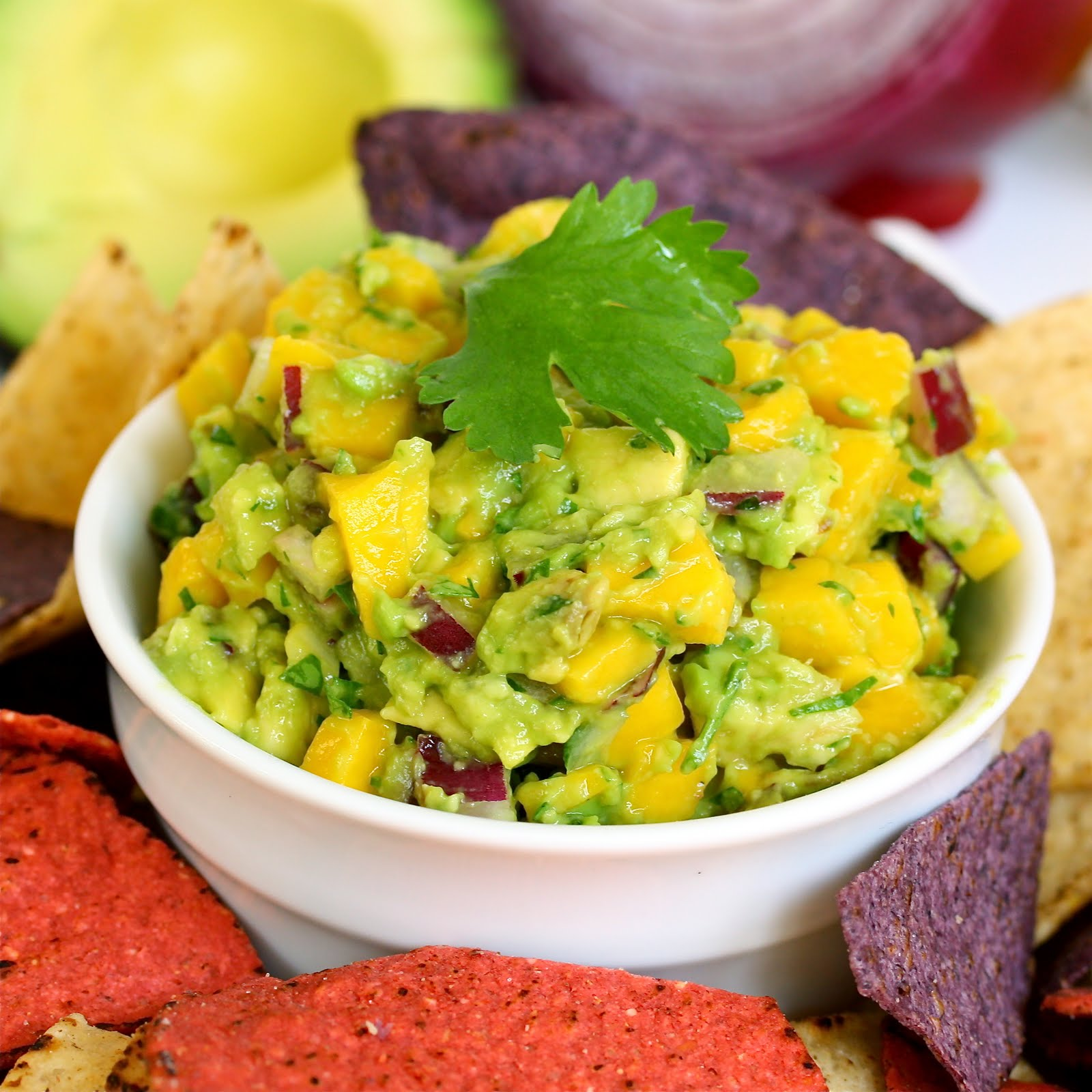 Avocado Mango Salsa or Mango Guacamole?? How about Avocado Mango Guaca ...
