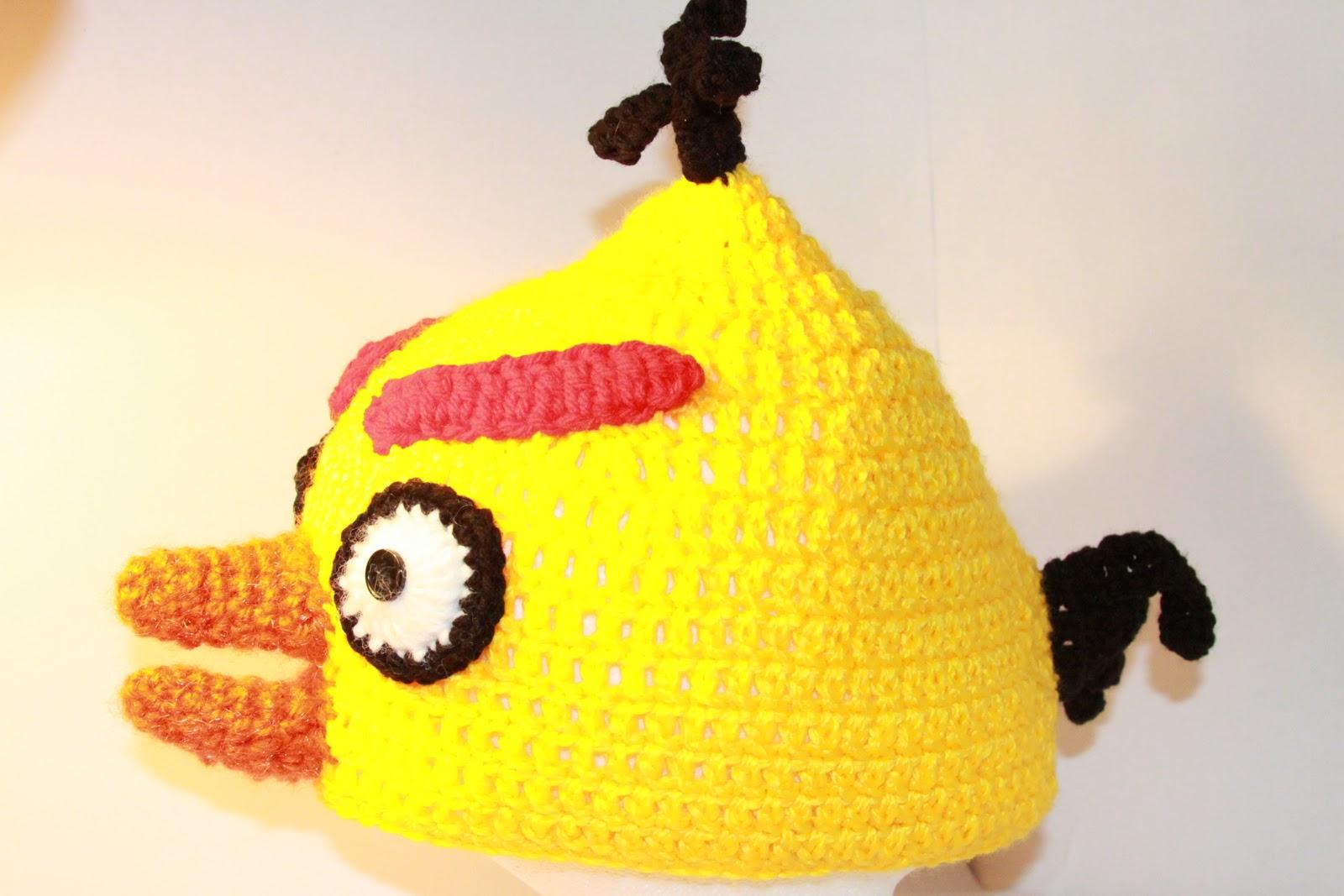 ToppyToppyKnits: Angry Birds Inspired Crochet Hats