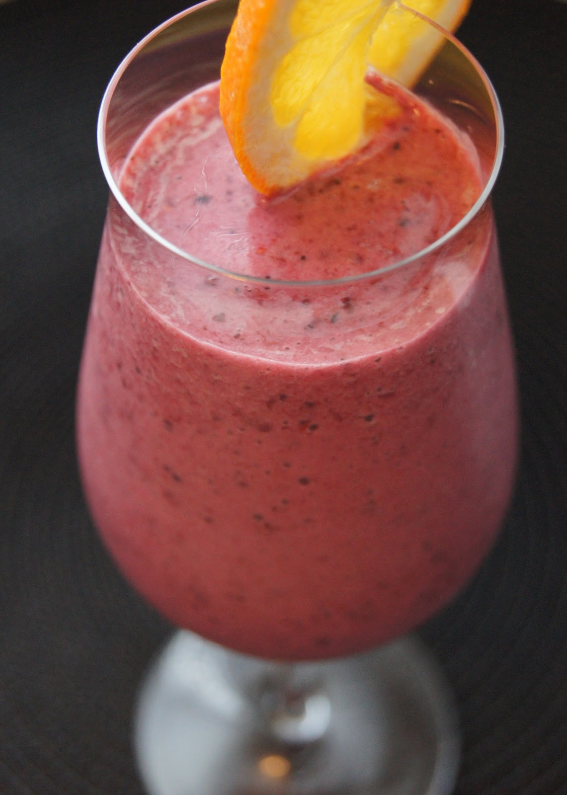 Eating Well, while Gluten Free: Mixed Berry Protein Smoothie