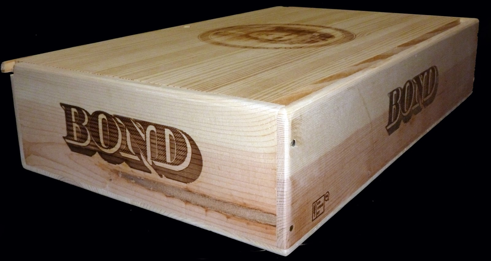 The Bond is a special piece and is slightly larger than a standard 6 bottle flat case. The three bottle flat is approx. half the size. & Wooden Wine Boxes u0026 Wine Crates: Defining Wooden Wine Crates ... Aboutintivar.Com