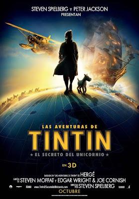 [Crítica] Las aventuras de Tintín: El secreto del Unicornio. El primer proyecto de animación 3D de Spielberg