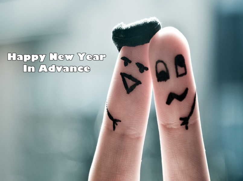 Advance Happy New Year Greeting