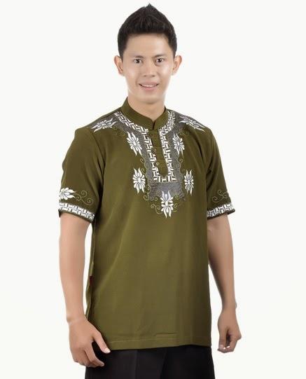 20 contoh model baju muslim pria terbaik 2016 danitailor Baju gamis pria lengan pendek