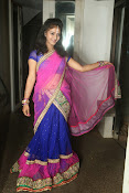 Young actress Jaya Harika in half saree-thumbnail-19