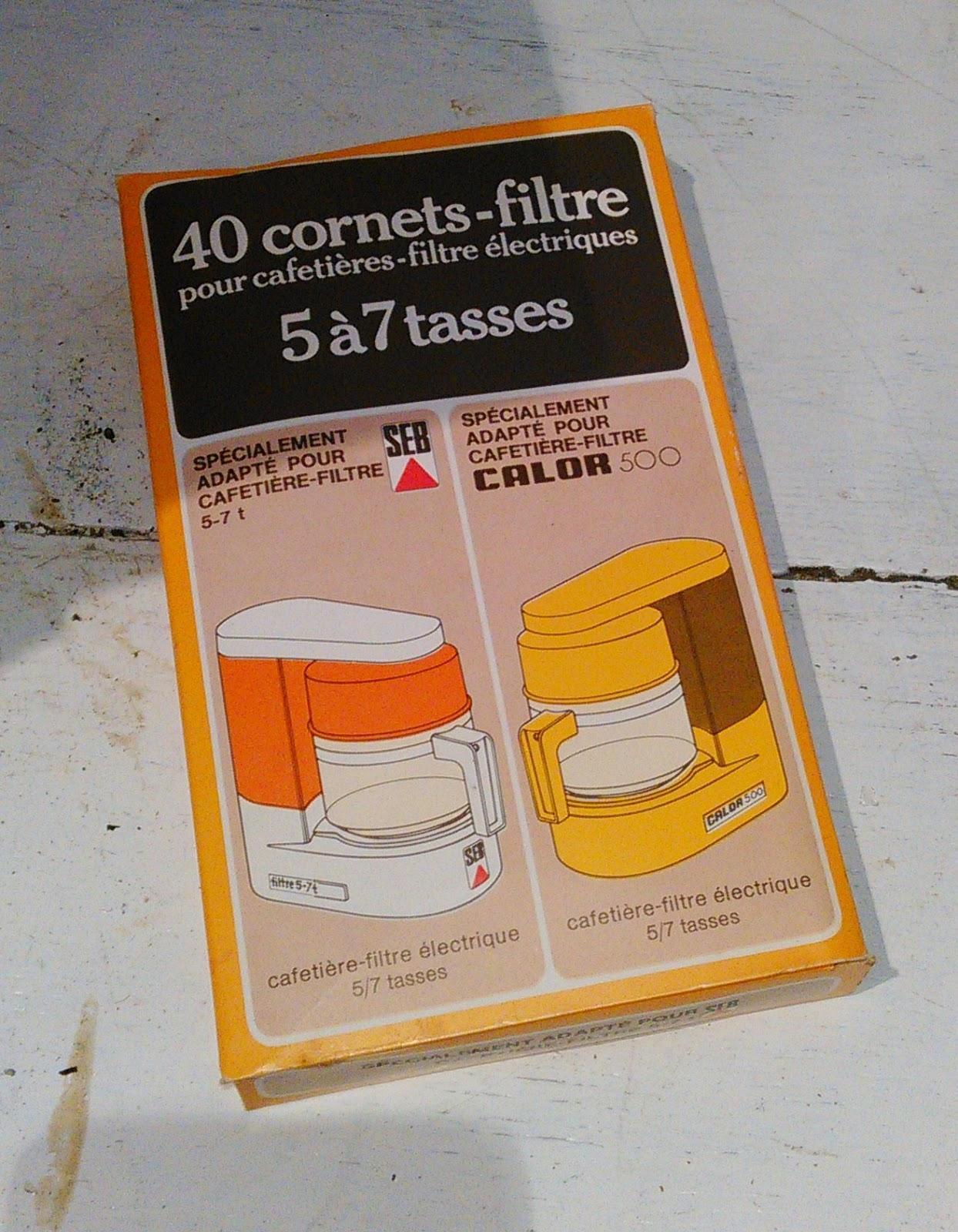 cafeti re filtre automatique calor 500 lectrique vintage. Black Bedroom Furniture Sets. Home Design Ideas
