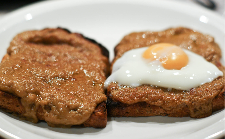 guinness and a fried egg welsh rarebit with roasted tomatoes welsh ...
