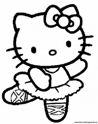 Coloring pages hello kitty desember 2012 for Hello kitty summer coloring pages
