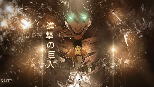 eren rogue titan form attack on titan shingeki no kyojin anime hd wallpaper 1366x768