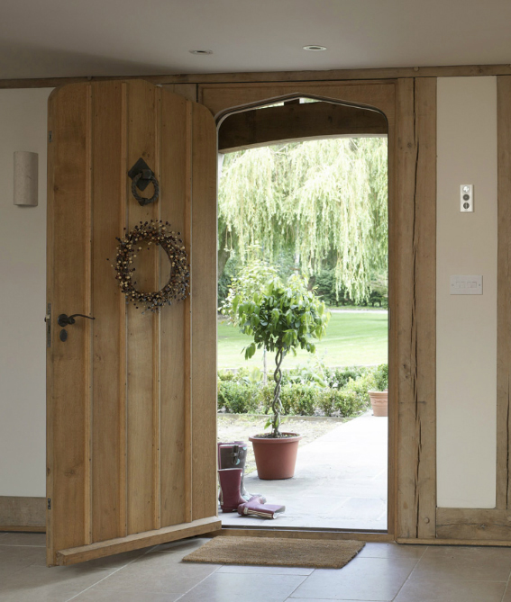 The paper mulberry february 2012 for White wooden front doors