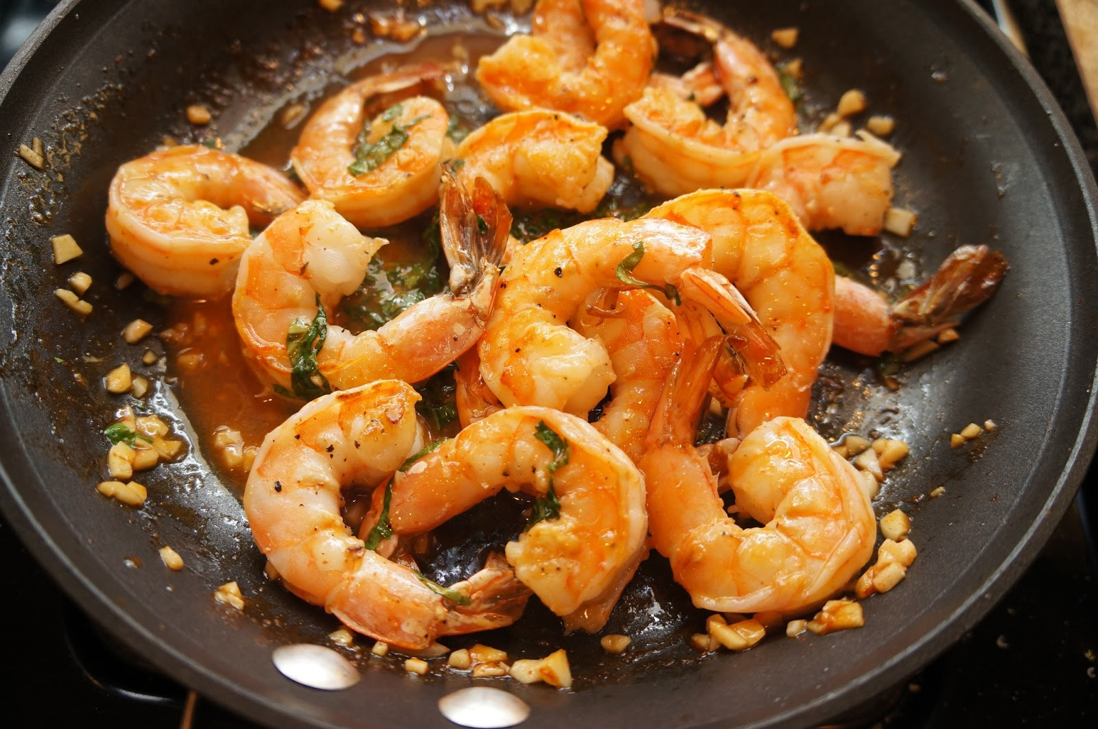Spoon & Cork: Sriracha-Buttered Shrimp