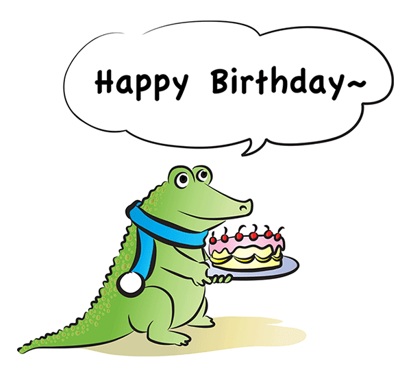 Birthday Alligator