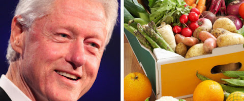 Former President Clinton on a Plant based Diet