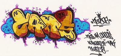 Graffiti Letters, Graffiti Sketch