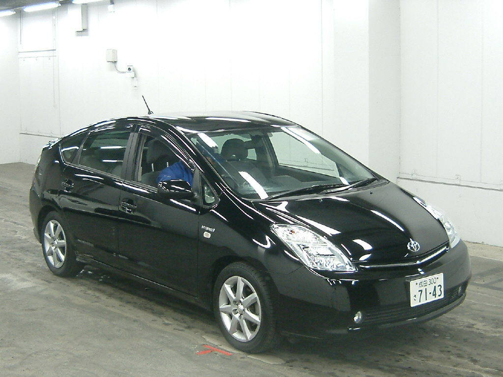 hybrid electric vehicles toyota prius 2008. Black Bedroom Furniture Sets. Home Design Ideas