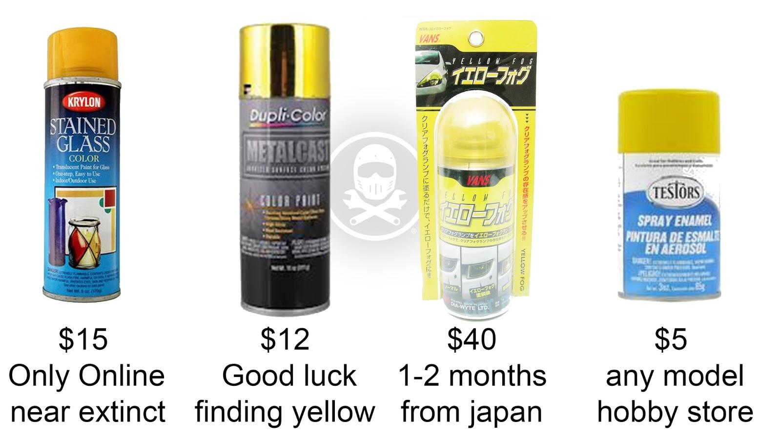 Another Yellow Headlamp Tutorial