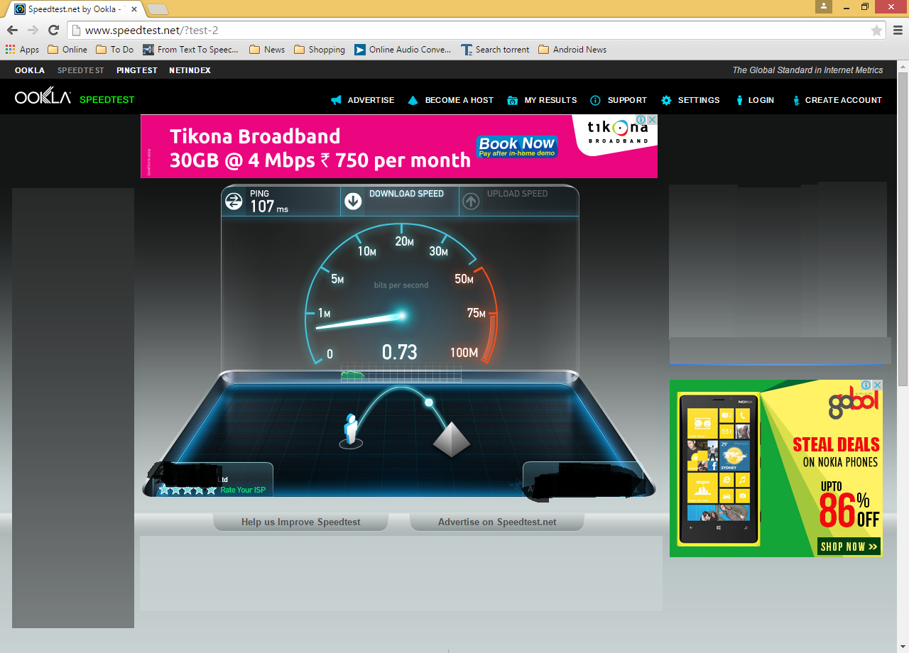How to Check Internet Speed (Net Speed Test) http://www.speedtest.net/
