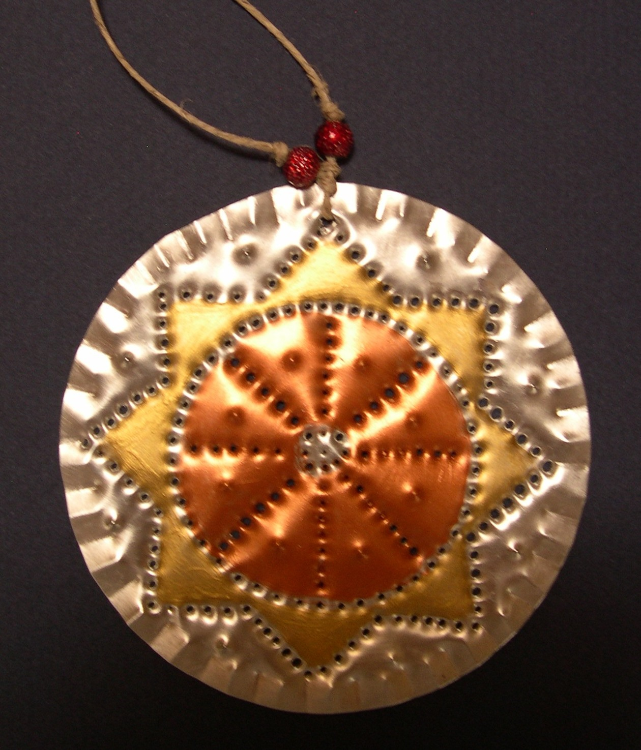 Artist susan finch tin christmas ornaments