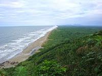 Linda Praia da Juréia no litoral sp