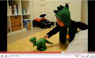 恐龍嚇恐龍 可愛