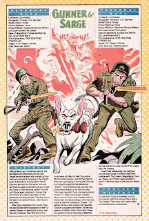Sargento y Artillero (ficha dc comics)