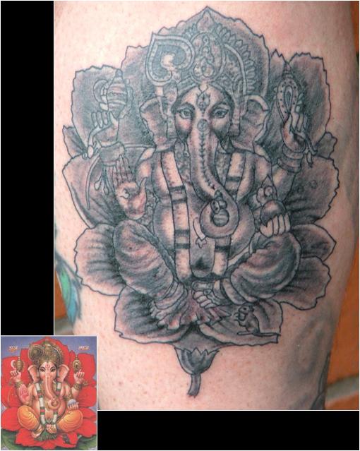 Ganesha Tattoos (want, need, must have)