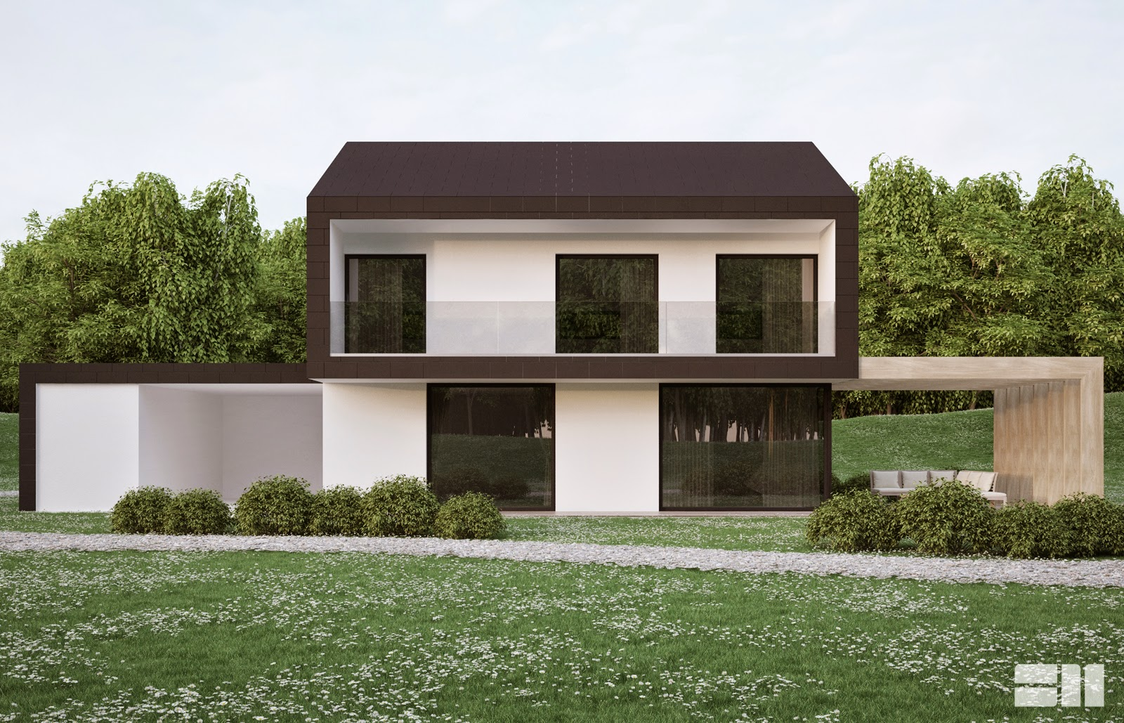 Sm visualisations for Non traditional house plans