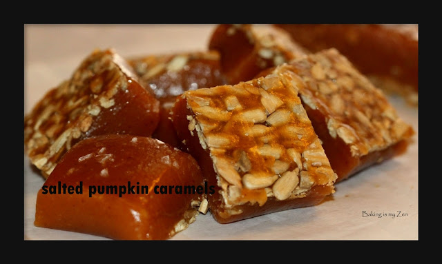 Baking is my Zen: SALTED PUMPKIN CARAMELS ~ Fall Comfort
