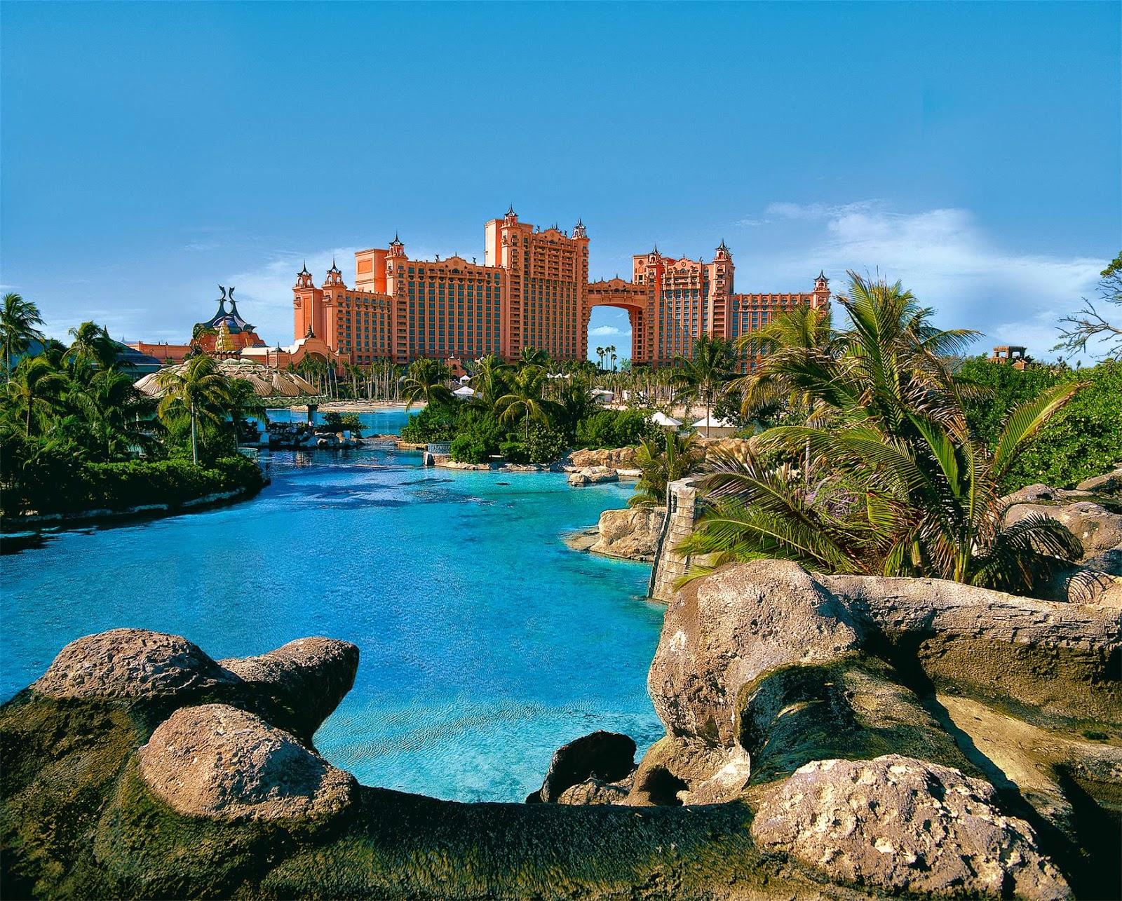 Atlantis resort paradise island bahamas vdudesv for Countries to go on vacation