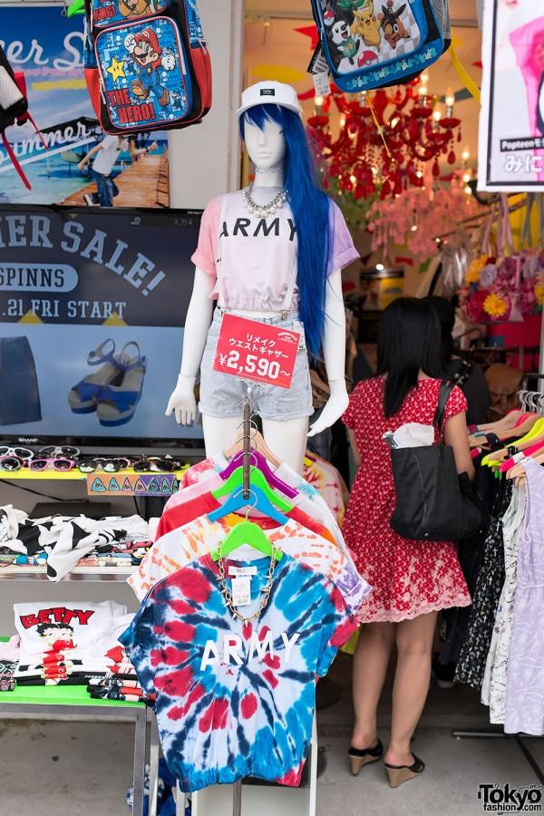 Japan Tie Dye Trend