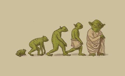 La evolución de Yoda