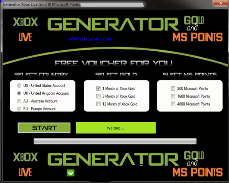 xbox live code generator download for mac