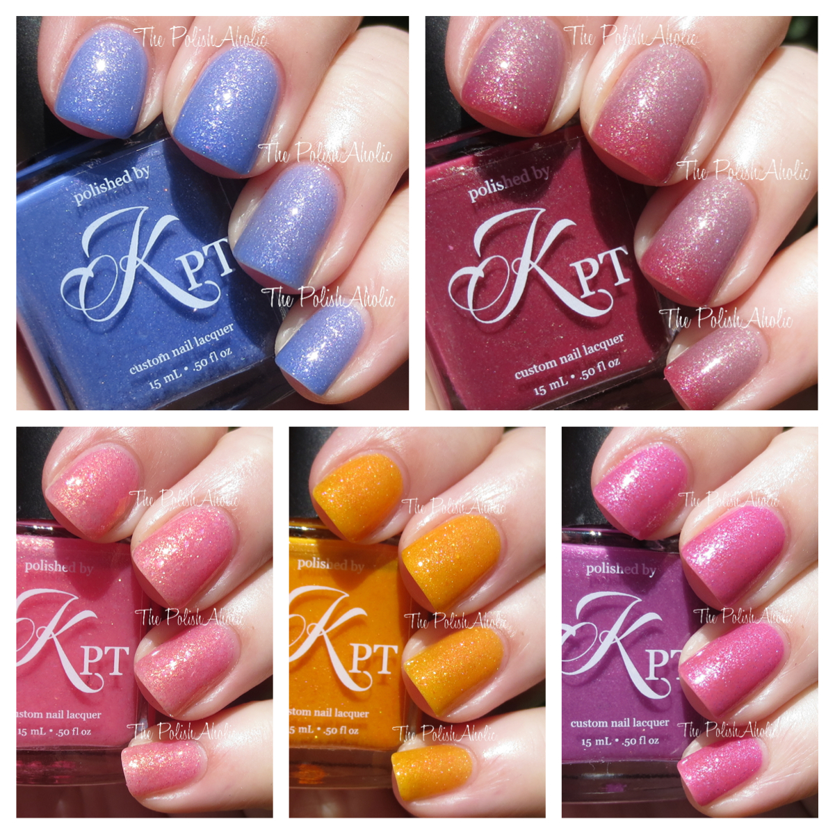 The PolishAholic: Polished by KPT March Into Spring Collection ...
