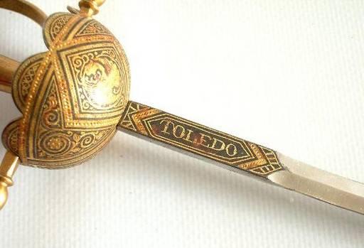 Espada Damasquinada (Toledo)