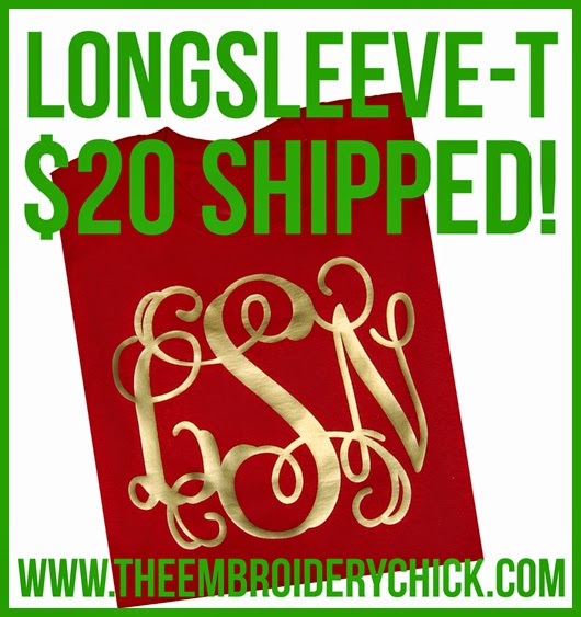 http://theembroiderychick.com/item_265/FLASH-SALE-Red-and-Gold-Long-Sleeve-T.htm