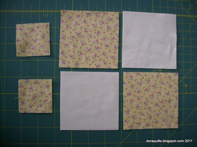 Dora Quilts: Tutorial: Bow Tie Blocks
